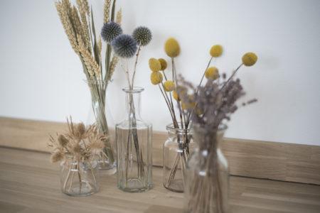 Torkade blommor