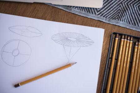 Skisser och ideér till yrkesbeviset