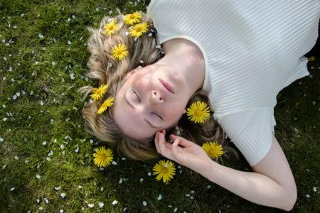 Fotografering vår gula blommor