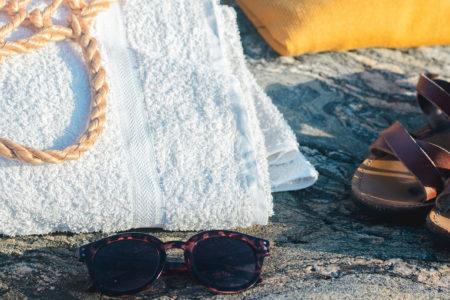 Loppiskläder stranden